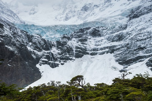 Chile Travel Landscape Photography Glaciar Frances French Valley Valle Frances Torres del Paine National Park Patagonia Chile South America