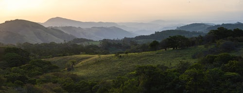 Costa Rica Travel Landscape Photography Monteverde Cloud Forest Reserve at sunset Puntarenas Costa Rica Central America 2
