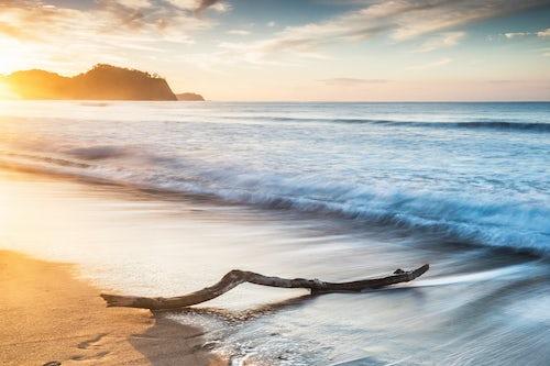 Costa Rica Travel Landscape Photography Playa Buena Vista Beach at sunrise Guanacaste Province Costa Rica 2