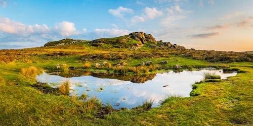 England Landscape Photography Photographer Tor in Dartmoor National Park Devon England United Kingdom