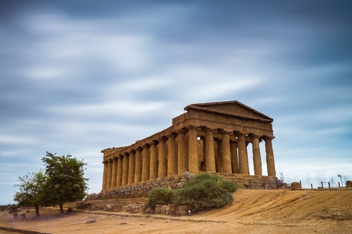 Italy Sicily Travel Photography Agrigento Valley of the Temples Valle dei Templi Temple of Concordia Tempio della Concordia Sicily Italy Europe