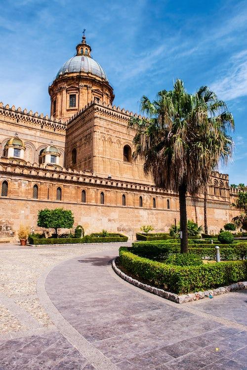 Italy Sicily Travel Photography Palermo Cathedral Duomo di Palermo Palermo Old Town Sicily Italy Europe