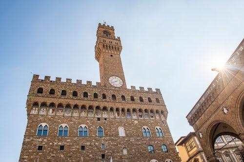 Italy Architecture Photography Palazzo Vecchio Piazza della Signoria Florence Tuscany Italy