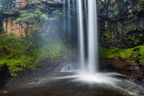 Kenya Landscape Photography Chania Waterfall in Aberdare National Park Kenya