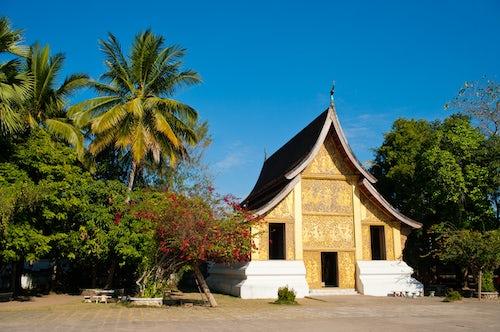 Laos Travel Photography Wat Xieng Thong Luang Prabang Laos Southeast Asia
