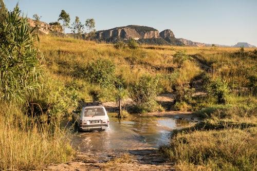 Madagascar Adventure Travel Photography 4wd driving at Isalo National Park Ihorombe Region Southwest Madagascar 2