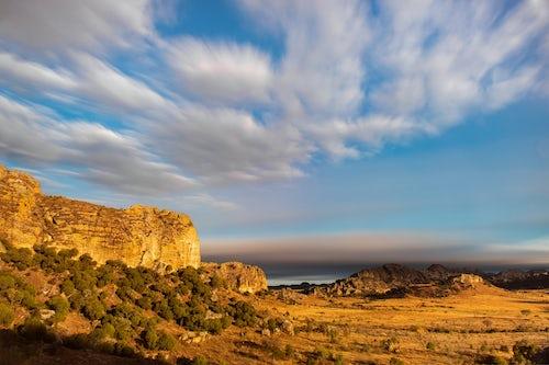 Madagascar Landscape Photography Isalo National Park landscape at sunrise Ihorombe Region Madagascar 2
