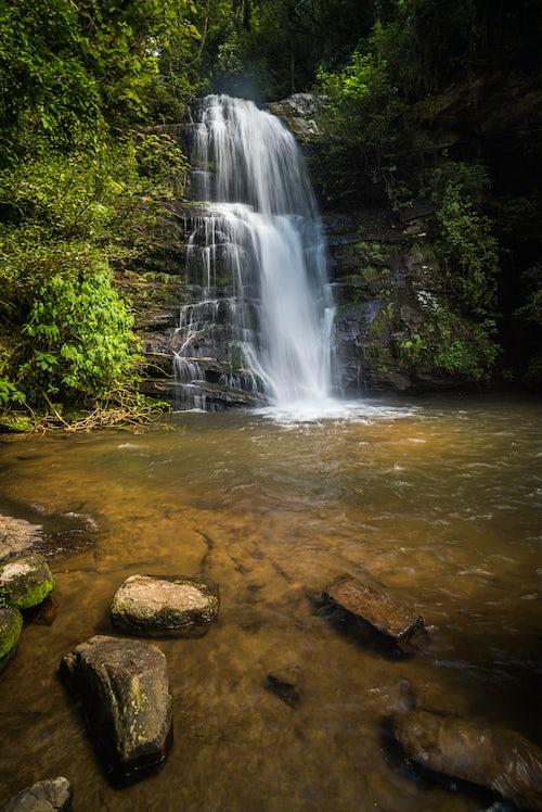 Madagascar Landscape Photography Waterfall in Ranomafana National Park Madagascar Central Highlands