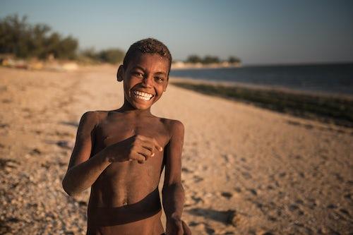 Madagascar Travel Portraiture Portrait Photography Portrait of Madagascan boy on Ifaty Beach South West Madagascar Africa