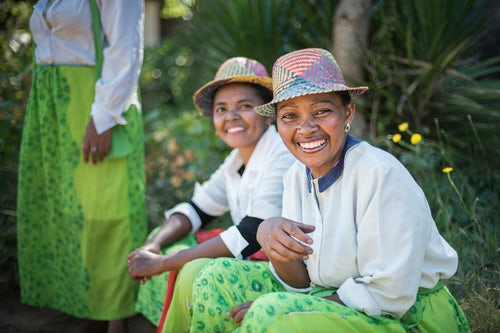 Madagascar Travel Portraiture Portrait Photography Portrait of lady in traditional Malagassy clothes Ambohimahasoa Madagascar Central Highlands 2