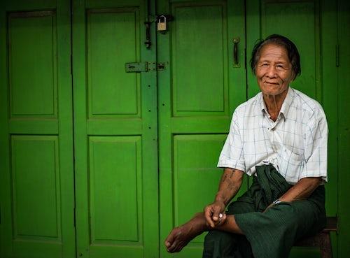 Myanmar Burma Portrait Travel Photography Documentary Portraiture Portrait taken at Inle Lake Shan State Myanmar Burma