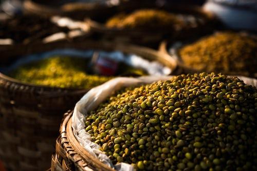 Myanmar Burma Travel Photography Fruit and vegetable market at Pindaya Shan State Myanmar Burma 2