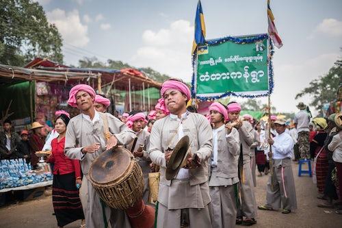 Myanmar Burma Travel Photography Pindaya Cave Festival Pindaya Shan State Myanmar Burma 2