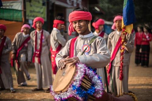 Myanmar Burma Travel Photography Pindaya Cave Festival Pindaya Shan State Myanmar Burma