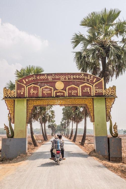 Myanmar Burma Travel Photography Snake Temple Mwe Paya between Dalah and Twante accross the river from Yangon Myanmar Burma