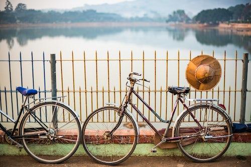 Myanmar Burma Travel Photography Street scene Pindaya Shan State Myanmar Burma
