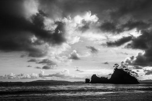 New Zealand Landscape Photography Pungapunga Island at Whangapoua Beach at sunrise Coromandel Peninsula New Zealand North Island 2