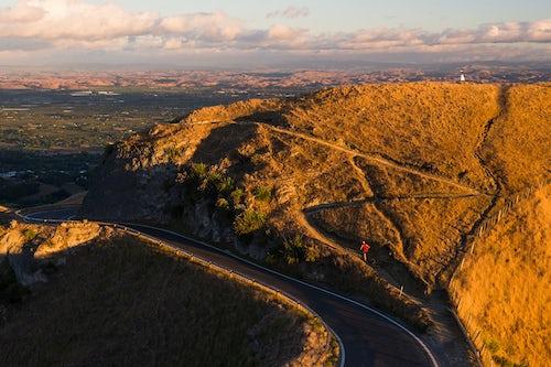 New Zealand Travel Photography Te Mata Peak at sunrise Hastings near Napier Hawkes Bay Region North Island New Zealand