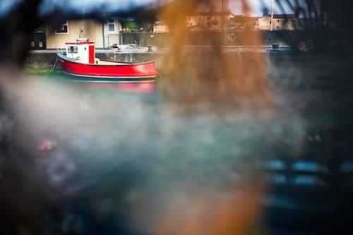 Northern Ireland UK Travel Photography Fishing harbour on Rathlin Island County Antrim Northern Ireland