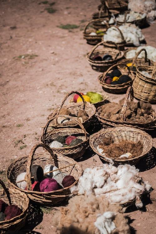 Peru Travel Photography Ccaccaccollo weaving community Sacred Valley of the Incas near Cusco Peru South America