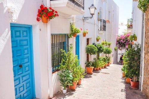 Spain Travel Photography Mojacar Town Andalucia Almeria Spain