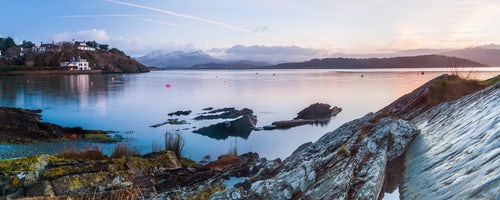 Wales Landscape Photography Borth Y Gest Beach at sunrise Snowdonia National Park North Wales