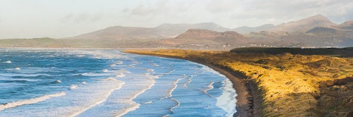 Wales Landscape Photography Harlech Beach Snowdonia National Park North Wales