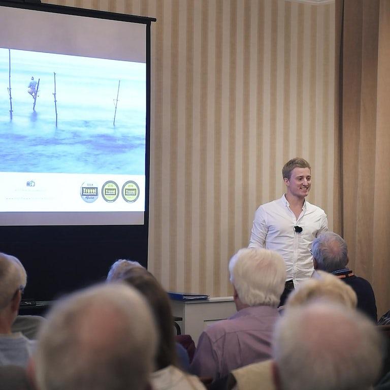 Travel & Landscape Photography Talk for Leamington Photography Society