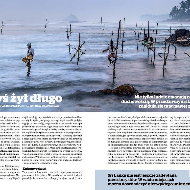 National Geographic Traveller Article on Sri Lanka
