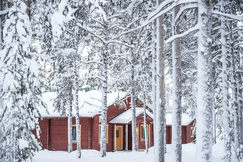 Architecture and Hotel Photography by Professional Freelance Hotel Property and Resort Photographer in London England UK Torassieppi Finnish Lapland Finland 2