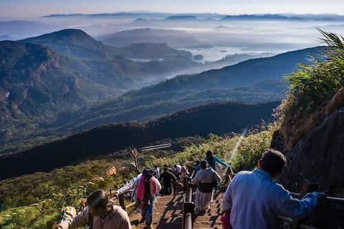 Documentary Travel Photography by UK London Documentary Travel Photographer Sri Lanka Adams Peak