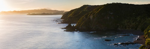 Landscape Photography by Professional Freelance UK Landscape Photographer Bay of Islands coastline landscape seen from Tapeka Point Russell Northland Region North Island New Zealand