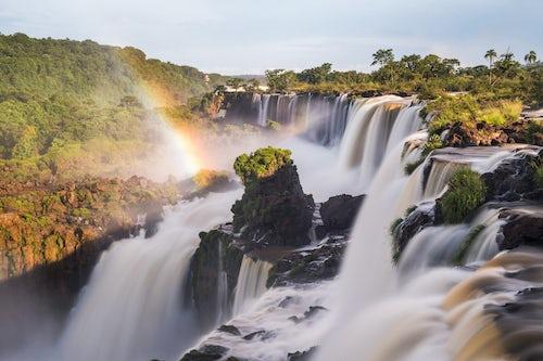 Landscape Photography by Professional Freelance UK Landscape Photographer Iguazu Falls aka Iguassu Falls and Cataratas del Iguazu Misiones Province Argentina South America
