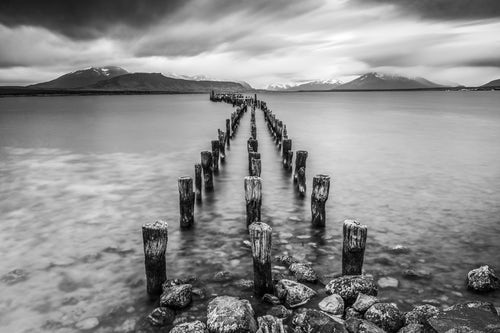Landscape Photography by Professional Freelance UK Landscape Photographer Old pier at Puerto Natales ltima Esperanza Province Chilean Patagonia Chile South America