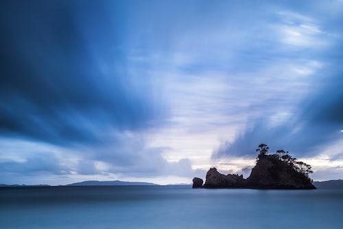 Landscape Photography by Professional Freelance UK Landscape Photographer Pungapunga Island at Whangapoua Beach at sunrise Coromandel Peninsula New Zealand North Island 2