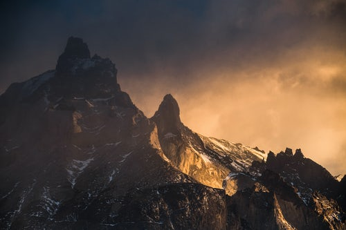 Landscape Photography by Professional Freelance UK Landscape Photographer Sunrise Paine Massif Cordillera Paine the iconic mountains in Torres del Paine National Park Patagonia Chile South America
